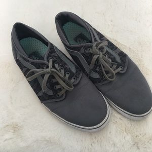 Vans Off the wall gray tennis shoes